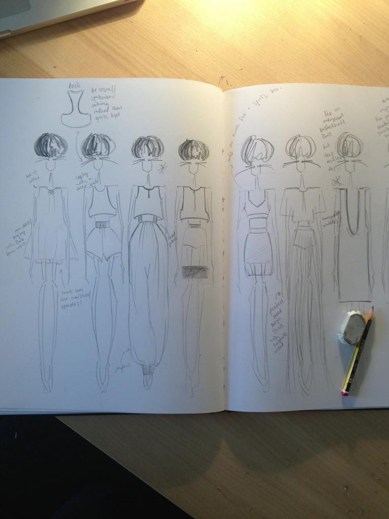 FAD sketchbook