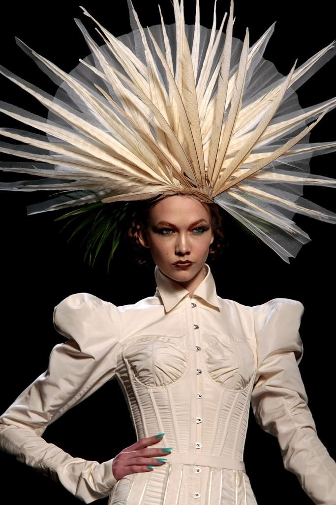 Jean Paul Gaultier's 2010 Feathers