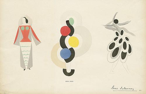 Sonia Delaunay Art as Fashion